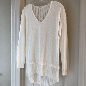 Two by Vince Camuto Cream Sweater | Size XS